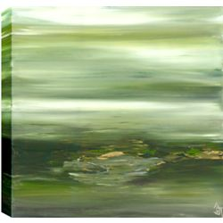 Art Maison Canada Plein de Nature abstraite, Gallary enveloppé toile murale Art 24 X 24