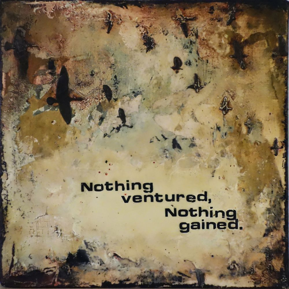 Art Maison Canada Nothing Ventured Nothing Gained, Canvas Print Wall Art 24X24