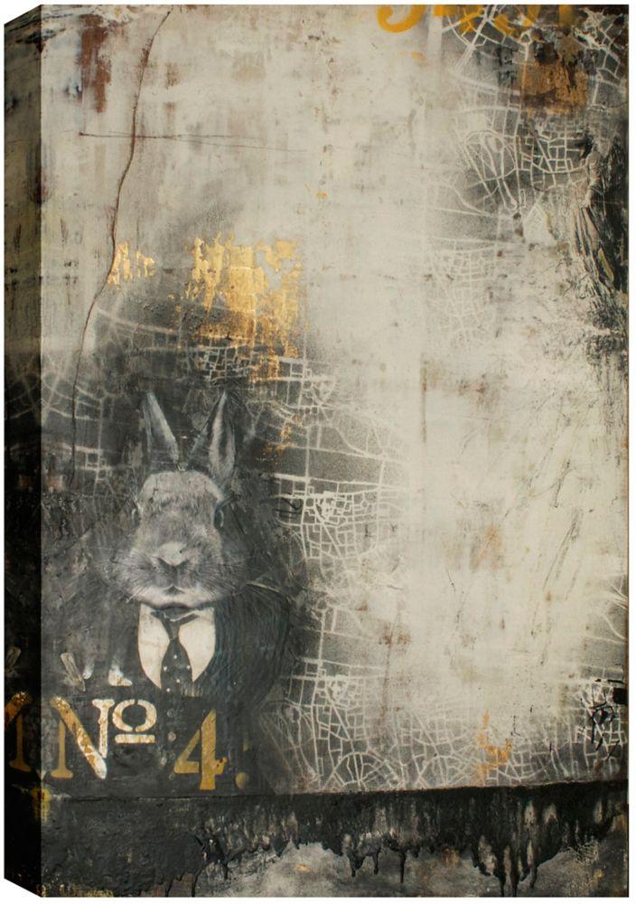 Art Maison Canada Apparition No.4, Abstract, Canvas Print Wall Art 30X40