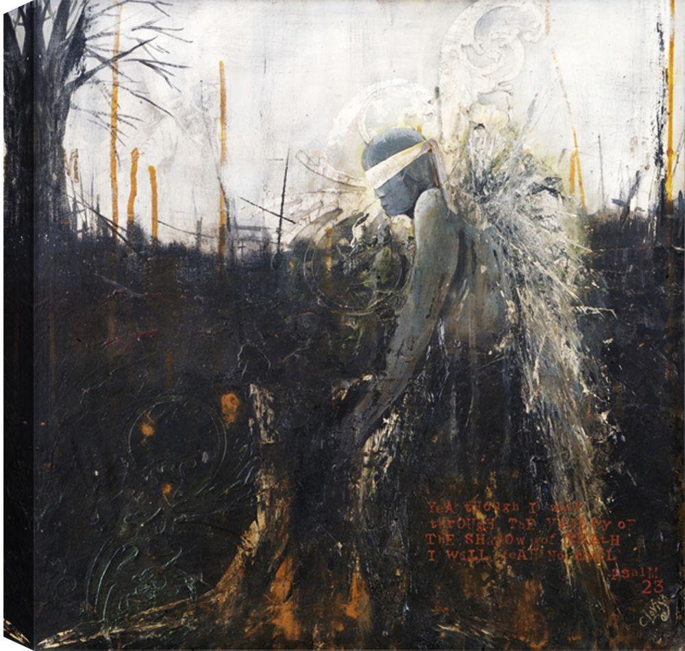 Art Maison Canada Blind Faith, Abstract, Canvas Print Wall Art 36X36