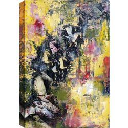 Art Maison Canada Bring on the dancing horses, Canvas Print Wall Art 34X46
