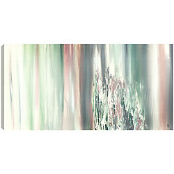 Art Maison Canada Rocky Green, Abstract, Gallary Wrapped Canvas Wall Art 18X24