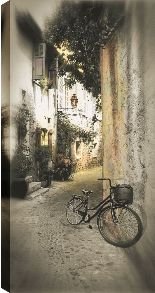 Art Maison Canada Parked Against the Wall' Photographic Print on Wrapped Canvas
