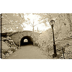 Art Maison Canada Walk Under the Bridge' Photographic Print on Wrapped Canvas