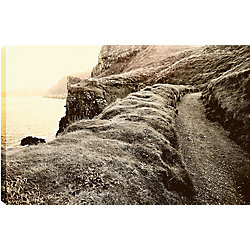 Art Maison Canada Path on the Rock' Photographic Print on Wrapped Canvas