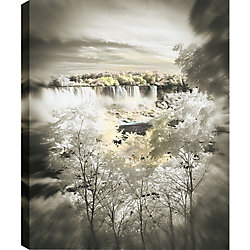 Art Maison Canada View Between The Trees' Photographic Print on Wrapped Canvas