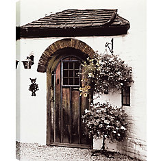 House Door' Photographic Print on Wrapped Canvas
