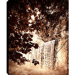 Art Maison Canada Trees and Watefalls II' Photographic Print on Wrapped Canvas