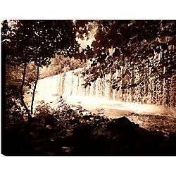 Art Maison Canada Trees and Waterfalls III' Photographic Print on Wrapped Canvas