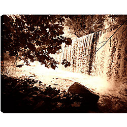 Art Maison Canada Trees and Waterfalls IV' Photographic Print on Wrapped Canvas