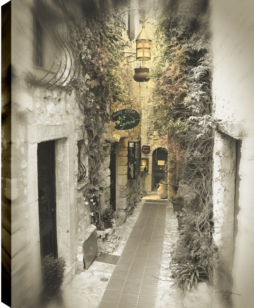 Art Maison Canada Lane to The House' Photographic Print on Wrapped Canvas