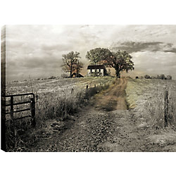 Art Maison Canada Path to the Farm' Photographic Print on Wrapped Canvas