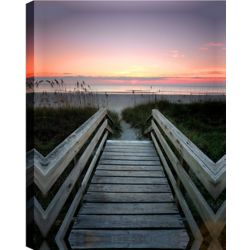 Art Maison Canada Path to the Ocean' Photographic Print on Wrapped Canvas