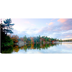 Art Maison Canada Clear Sky Reflections II' Photographic Print on Wrapped Canvas