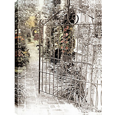 Open the Gates' Photographic Print on Wrapped Canvas