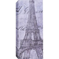 Art Maison Canada Eiffel Tower Graphic Art on Wrapped Canvas