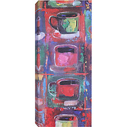 Art Maison Canada Five Mugs Painting Print on Wrapped Canvas
