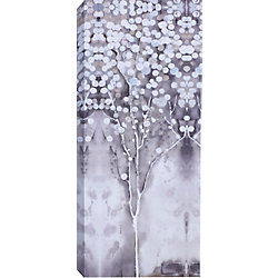 Art Maison Canada 'White Tree Flowers I' by Anastasia C. Painting Print on Wrapped Canvas