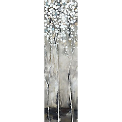 Art Maison Canada White Tree Flowers III' Painting Print on Wrapped Canvas