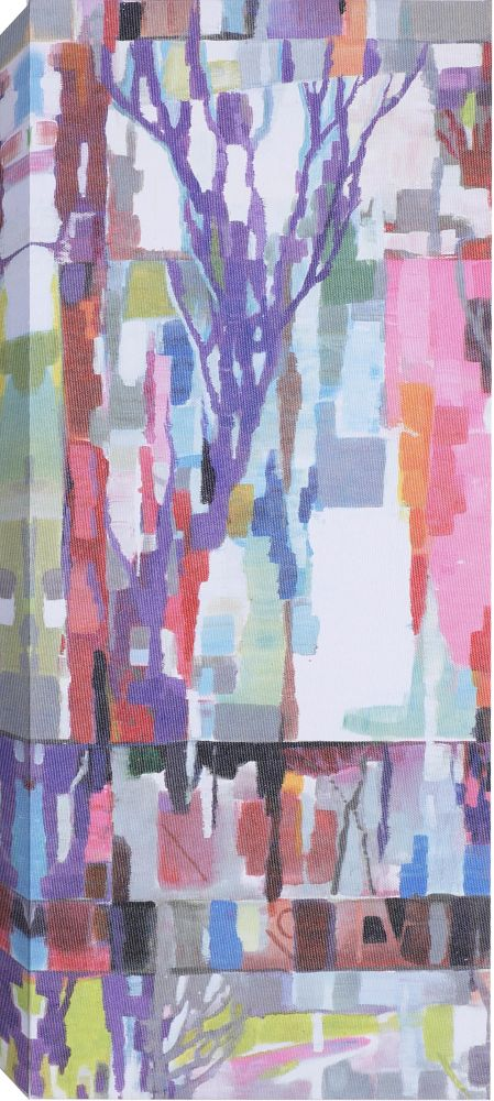 'Abstract Branches I' by Anastasia C. Painting Print on Wrapped Canvas