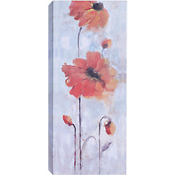 Art Maison Canada 'Orange Flowers' by Anastasia C. Painting Print on Wrapped Canvas