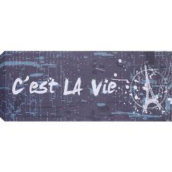 Art Maison Canada Paris Tower Graphic Art on Wrapped Canvas