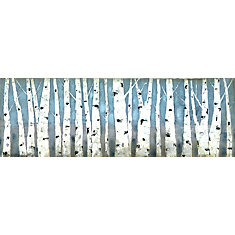 White Tree Branches' Painting Print on Wrapped Canvas