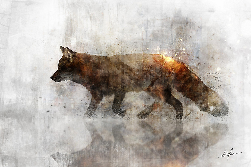 Animal I Wall Art on Wrapped Canvas