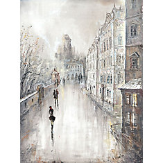 Amsterdam Lovers VI' Painting Print on Wrapped Canvas