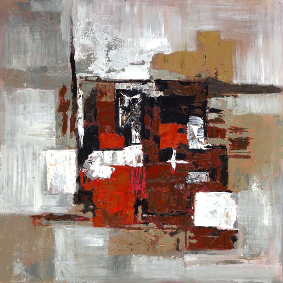 Art Maison Canada Abstract' Painting Print on Wrapped Canvas