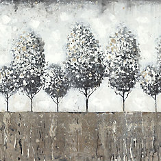 Tree View I' Painting Print on Wrapped Canvas