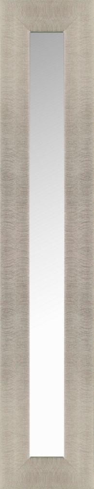 Mirrorize Canada Wide Silver Accent Mirror 10.5X54.5 (Inner Mirror 4X48), Set of 3