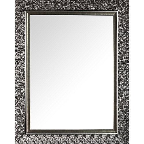 Concepteur Mosaic biseauté miroir argenté 27 X 35 (miroir d'intérieur 20 X 28)
