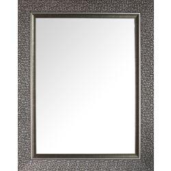 Mirrorize Canada Designer Mosaic Silver Beveled Mirror 27X35 (Inner mirror 20X28)
