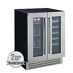 Réfrigérateur 2 portes à boissons et à vin