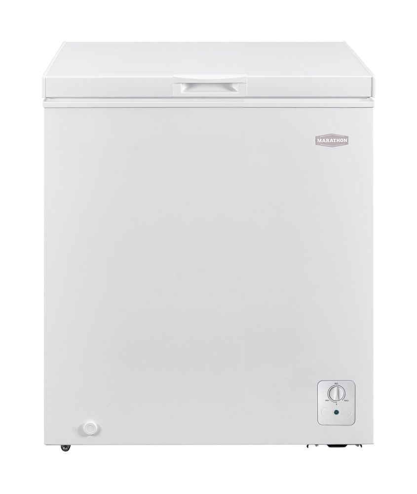 Marathon 5 cu. ft. Chest Freezer in White - ENERGY STAR®