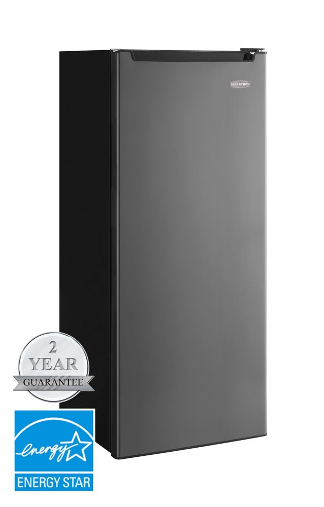 8.5 cu. ft. All Refrigerator in Black Steel - ENERGY STAR®