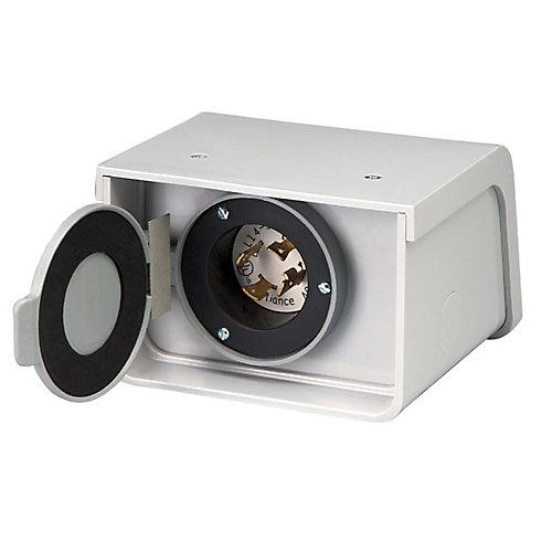 Boîte dentrée électrique non-métallique pour l'extérieur - 30 A - PBN30 de Reliance Controls