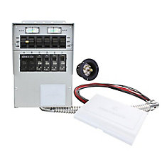 100 amp generator manual transfer switc