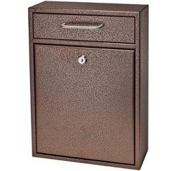 Mail Boss Boîte de dépôt de sécurité verrouillable Mail Boss bronze