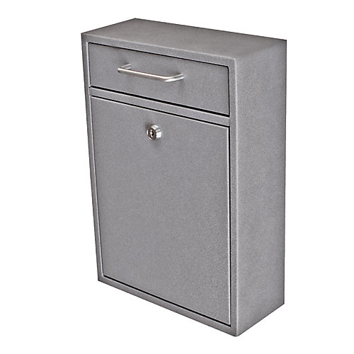 Locking Security Drop Box, Granite