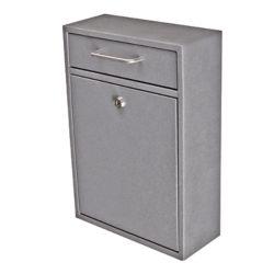 Mail Boss Boîte de dépôt de sécurité verrouillable Mail Boss granite