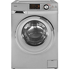 2.0 cu. ft. Front Load Washer and Dryer in Stainless Steel