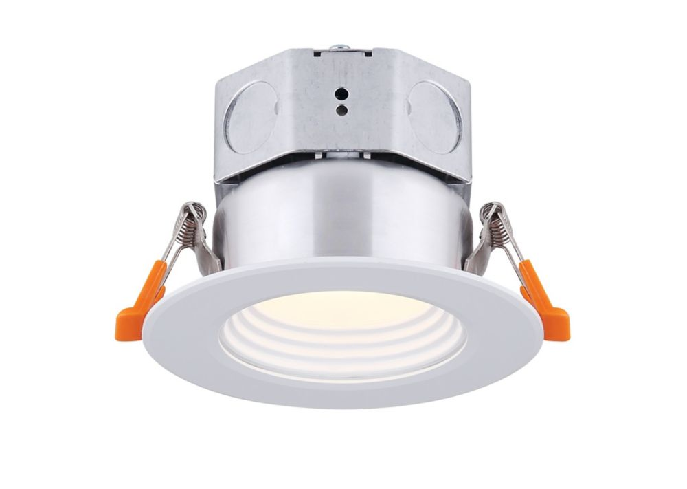 Canarm Ltd 3 inch LED White Stepped Baffle Recessed Round Downlight - ENERGY STAR®