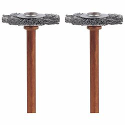Dremel 3/4 inch Stainless Steel Brushes (2-Pack)