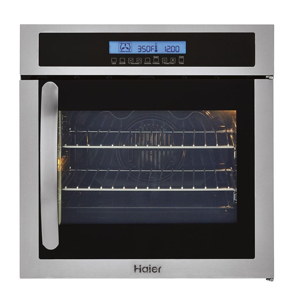 Haier 24 inch Single 2.0 CF Wall Oven