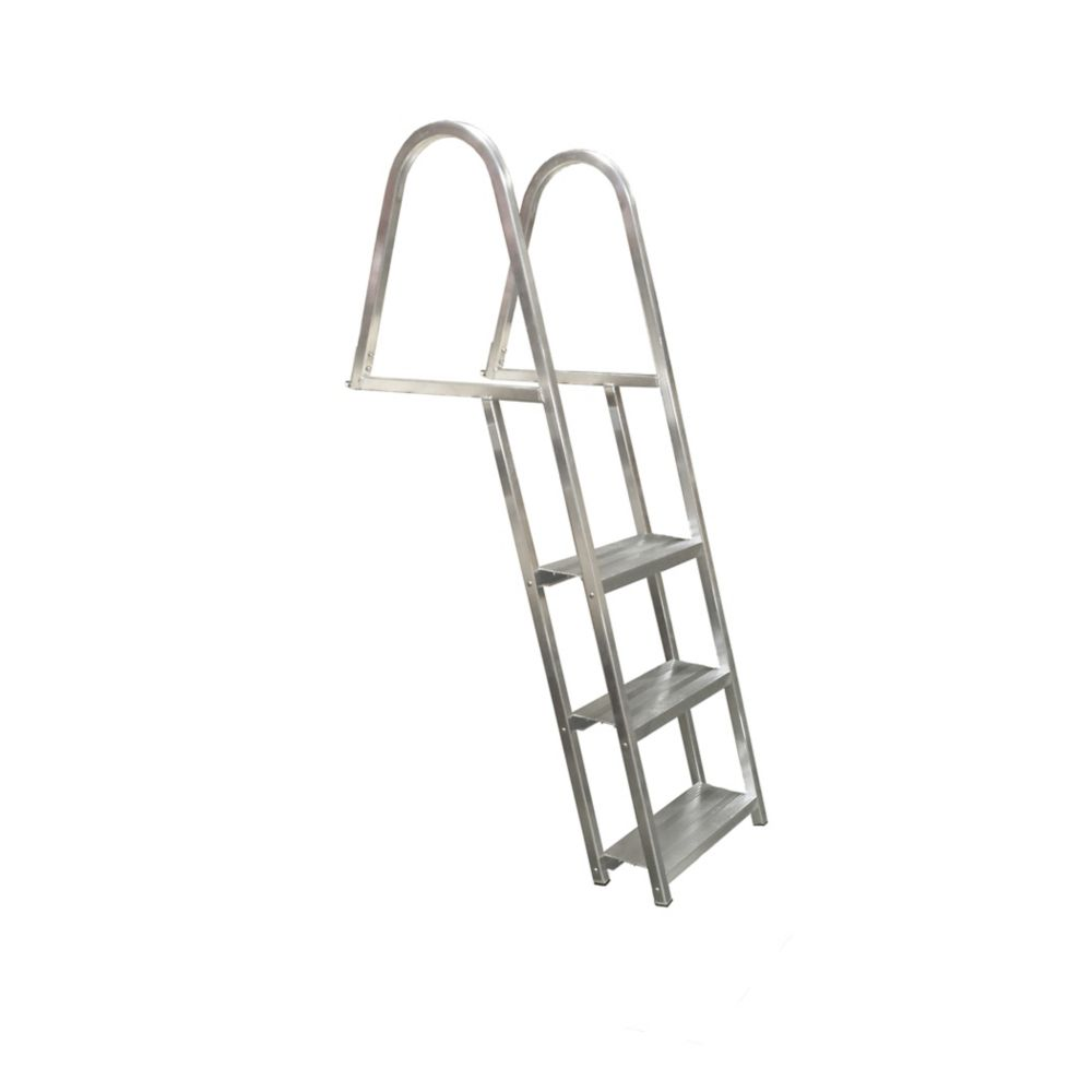 Multinautic 3 Step, angled, Aluminum Dock Ladder
