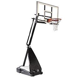 Spalding Système de Basketball Portatif Hybride Suprême de 60 po