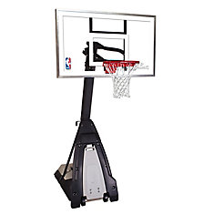 The Beast 60 Inch Glass Basketball System