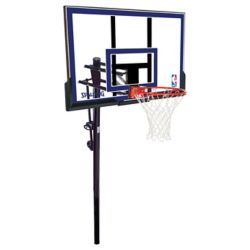 Spalding Système de Basketball enterré en Acrylique de 50 po